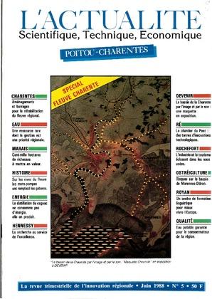 L'Actualité Scientifique, Technique, Économique Poitou-Charentes, numéro 5, juin 1988