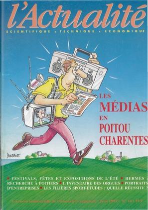 L'Actualité scientifique, technique, économique Poitou-Charentes n° 14
