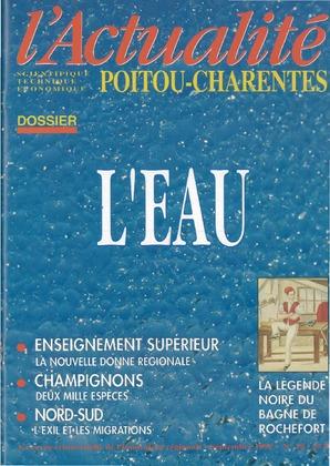 L'Actualité Poitou-Charentes, numéro 18, septembre 1992