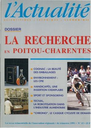 L'Actualité Scientifique, Technique, Économique, numéro 15, octobre 1991